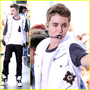 Justin Bieber: 'The Today Show' Performance!