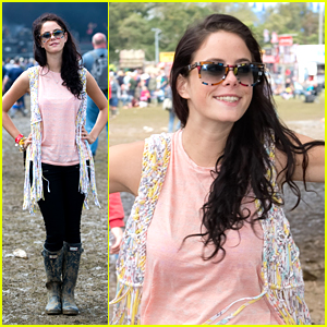 Kaya Scodelario: Isle of Wight Festival Day 4!