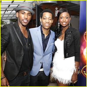 Coco Jones & Tyler James Williams: 'Let It Shine' Listening Party!