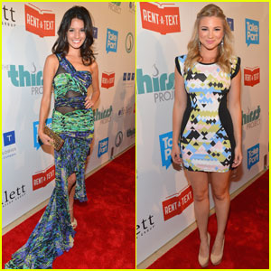 Allie Gonino & Alice Greczyn: Thirst Gala 2012 Gals