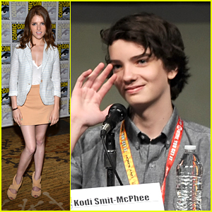 Anna Kendrick & Kodi Smit-McPhee: 'ParaNorman' Panel at Comic Con 2012