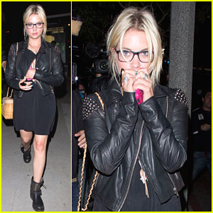 Ashley Benson: Bootsy Bellows Lounge with Ryan Good!