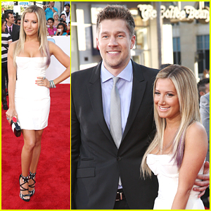 Ashley Tisdale & Scott Speer: 'Step Up Revolution' Premiere!