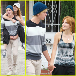 Bella Thorne: Piggyback Ride From Tristan Klier