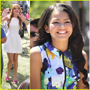 Bella Thorne & Zendaya: 'Extra!' at The Grove