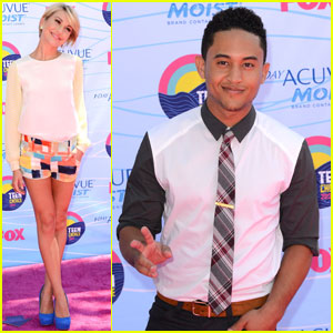 Chelsea Kane &#038; Tahj Mowry - Teen Choice Awards 2012