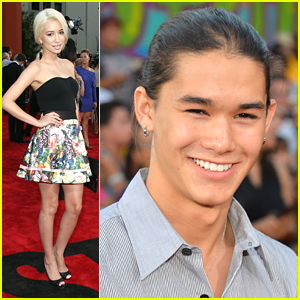 Christian Serratos & Booboo Stewart: 'Step Up Revolution' Premiere!