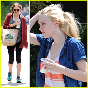 Elizabeth Olsen &#038; Dakota Fanning: Back To Work on 'Very Good Girls'
