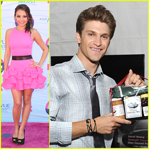 Janel Parrish: Teen Choice Awards 2012 with Keegan &#038; Tyler!