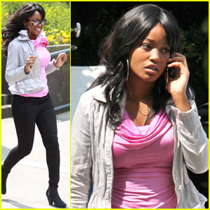 Keke Palmer: I Love You, Christian Grey!