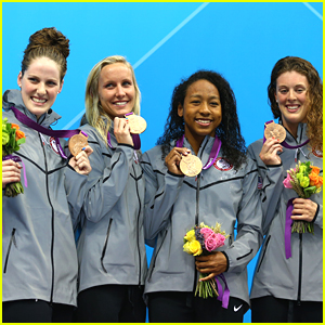 Missy Franklin: Bronze Medal For 4x100 Freestyle Relay at 2012 Olympics!