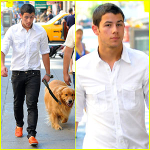 Nick Jonas: NYC Dog Walker