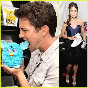 Nikki Reed & Jackson Rathbone Retreat to Backstage Creations