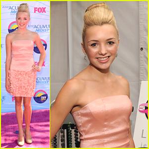 Peyton List - Teen Choice Awards 2012