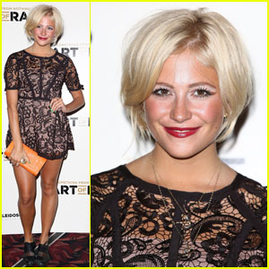 Pixie Lott: Lacy Lady at 'The Art of Rap' Premiere