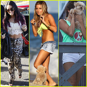 Vanessa Hudgens & Selena Gomez: Happy Birthday, Ashley Tisdale!