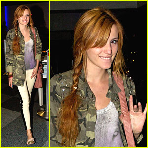 Bella Thorne: LA to Connecticut