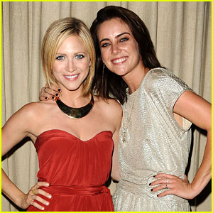 Brittany Snow: CAN.Party with Jessica Stroup!