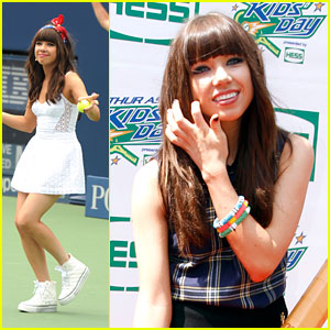 Carly Rae Jepsen: Arthur Ashe Kids Day 2012