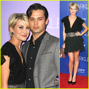 Chelsea Kane: 'Sparkle' Premiere with Stephen Coletti