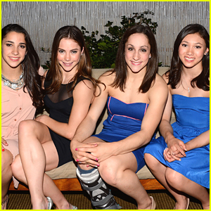 McKayla Maroney: Good Morning America with The Fierce Five!