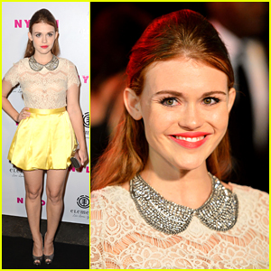 Holland Roden Parties with Nylon