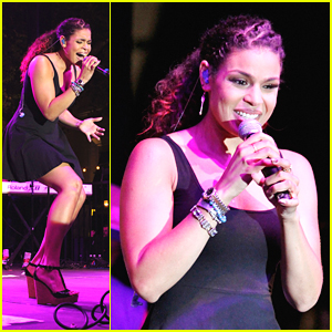 Jordin Sparks: Grove Concert Cutie!