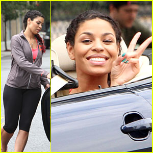 Jordin Sparks: Peace on 'Pete' Set