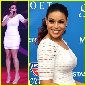 Jordin Sparks: U.S. Opening Ceremony Singer