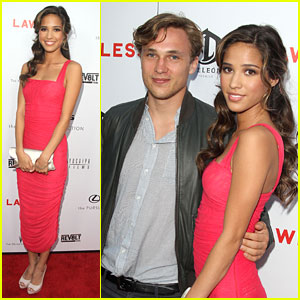 Kelsey Chow: 'Lawless' Premiere with William Moseley