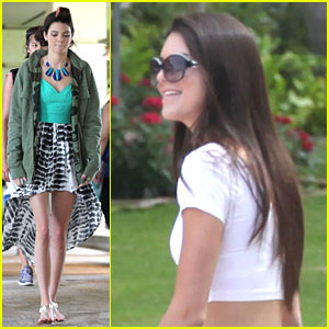 Kendall Jenner: On Set for 'Hawaii Five-O'