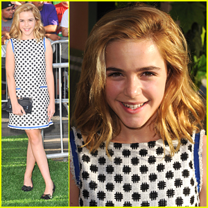 Kiernan Shipka: 'Odd Life of Timothy Green' Premiere Pretty