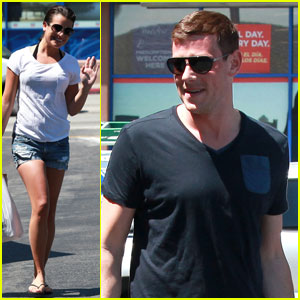 Lea Michele: Birthday Errands with Cory Monteith!
