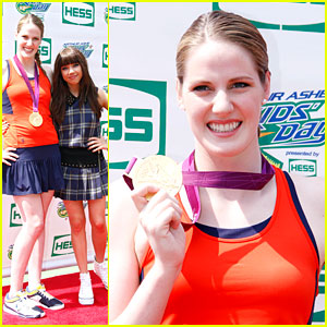 Missy Franklin: 'Amazing Day' at Arthur Ashe Kids Day 2012