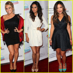 Shay Mitchell &#038; Cassie Scerbo: Friends To Mankind!