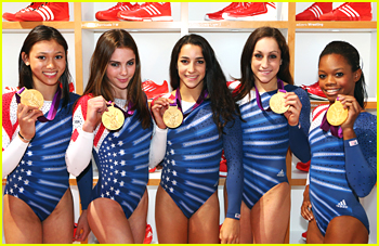 Aly Raisman &#038; McKayla Maroney: adidas Media Lounge Ladies