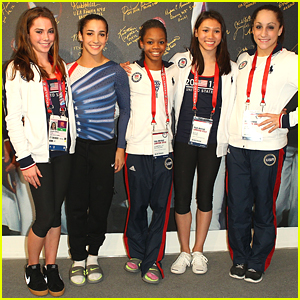U.S. Gymnasts: USA House Stop at 2012 Olympics