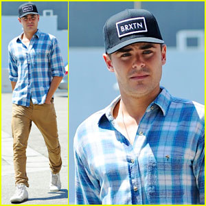 Zac Efron: Asanebo Restaurant Lunch!