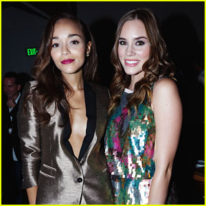 Ashley Madekwe & Christa B. Allen: Nylon Dinner Ladies