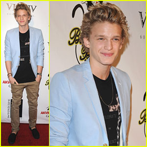 Cody Simpson: Carly Rae Jepsen's Album Launch Party