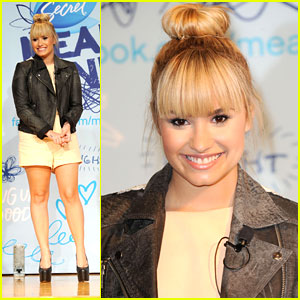 Demi Lovato: Mean Stinks Anti-Bullying Ambassador!