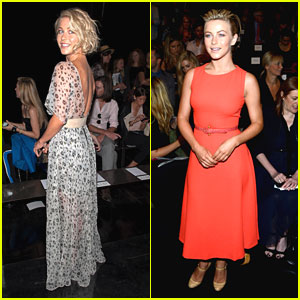 Julianne Hough: Front Row For Carolina Herrera