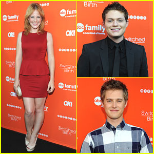Katie Leclerc & Lucas Grabeel: 'Switched At Birth' Book Launch