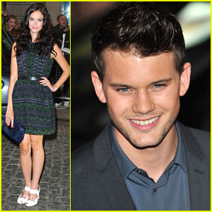 Kaya Scodelario: 'Now Is Good' Premiere with Jeremy Irvine