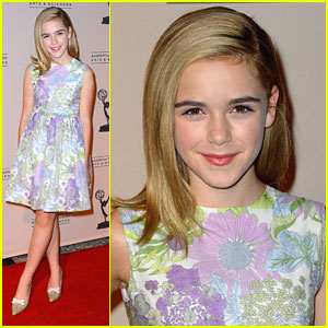 Kiernan Shipka: Writer Nominees' Emmy Reception