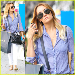 Lauren Conrad: Santa Monica Shopper