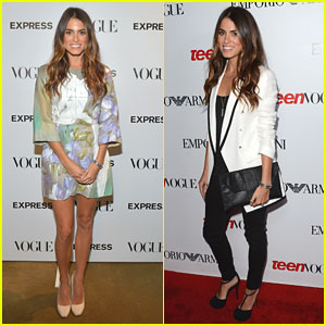 Nikki Reed's Very Vogue Night