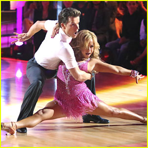 Sabrina Bryan & Louis Van Amstel: Cha Cha on 'Dancing With The Stars: All-Stars'