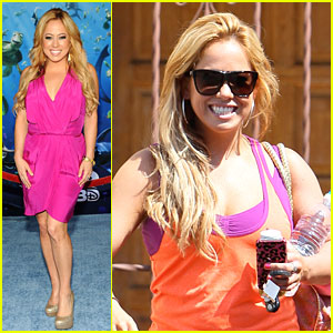 Sabrina Bryan is 'Finding Nemo'