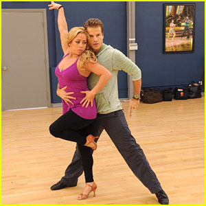 Sabrina Bryan & Louis Van Amstel: The Van Bryans Rehearsal Pics & Video!